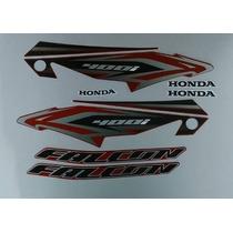Kit Adesivos Honda Nx4 Falcon 400i 2013 Vermelha
