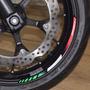 Friso Adesivo Refletivo Relevo 3d Roda Moto Ducati Corse All