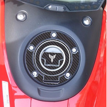 Protetor 3d Bocal Tanque Fuel Cap Moto Yamaha Mt 07 Mt07 M3