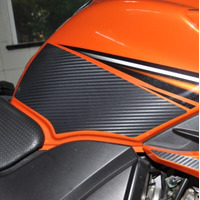 Protetor Tanque Lateral P Moto Yamaha Fazer 150 Frete Grátis