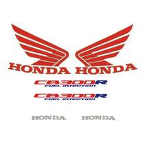 Kit Adesivos Honda Cb-300r 2012 Branca