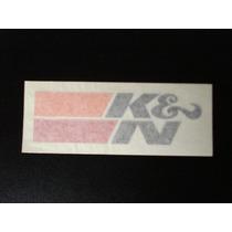 Adesivo K & N Kn Original Importado Frete Grátis