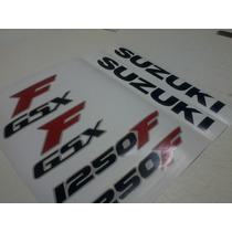 Adesivo Moto Suzuki Gsx 1250 Fa 750f 650f Logotipo Gsxf