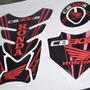 Protetor Tanque Tankpad Bocal Rabeta M1 Moto Honda Cb 300 R