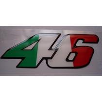 Adesivo Valentino Rossi 46 Alto Relevo - Otima Qualidade