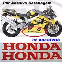 Adesivos Carenagem Do Guga ! ( Par ) Honda - Suzuki - Yamaha