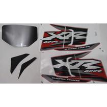 Kit Adesivos Honda Xr 200r 2002 Vermelha ¿