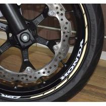 Friso Refletivo Adesivo Roda Interno Moto Honda Cbr 500 R M1