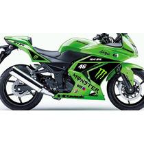 Adesivo Moto Kawasaki Ninja 250 300 250r 300r