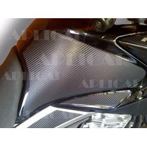 Adesivo Fibra De Carbono, Fazer 250, Proteção Tanque