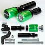 Kit Slider Dianteiro E Traseiro Kawasaki Er6n Er-6n Verde Cl