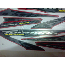 Adesivo Moto Xr 250 Tornado 2008 Verm Completa Frete Gratis
