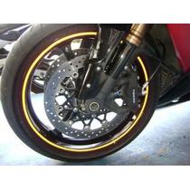 Fita Refletiva Roda Moto Esportiva