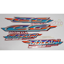 Adesivo Faixa Moto Honda Cg Titan 125 Vermelha 98