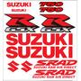 Kit Adesivo Suzuki Srad 750 Vermelho 12 Adesivos