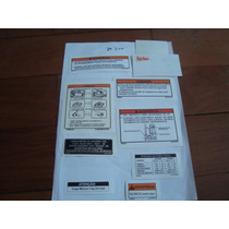 Adesivo De Advertencia Yamaha Dt 200 Xt 225