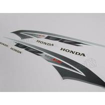 Kit Jogo Adesivo Honda Biz 125 Ex 2013 Branco Frete R$9,90