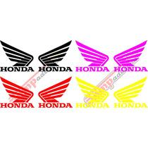 Adesivos Do Tanque Para Motos Honda, Kit Com 2 Und.
