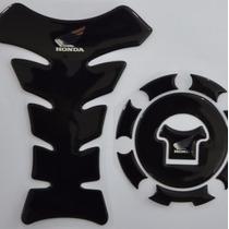 Protetor Tanque Tankpad Bocal Black Moto Honda Cb 600 Hornet