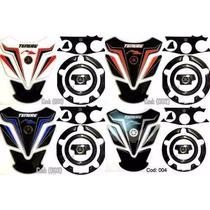 Kit Protetor Tanque Mesa Bocal Yamaha Xtz 250 Tenere Fret Gr