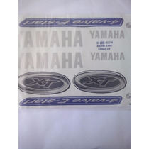 Jogo Adesivo Xt600 E Azul Ano 2002 A 2004