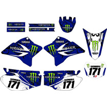 Kit Adesivo Grafico Plotagem Moto Trilha Ttr230 2005-2016 M1