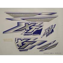 3m Kit Adesivos Gráficos Yamaha Xt 225 2000 1ª Linha
