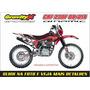 Kit Adesivo Crf 230 2008/2014 Honda Basic Gravity-x
