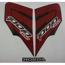 Kit Jogo Adesivo Completo Honda Pop100 12 Roxa