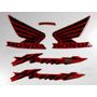 Kit Adesivos Hornet Cb 600f 2005 Vermelha - Resinado Decalx