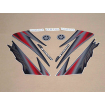 Kit Adesivos Yamaha Ybr 125 2005 Preta -- Frete R$9,90