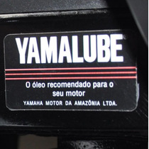 Adesivo Balança Red Yamalube Moto Yamaha Fazer 150 E Outras
