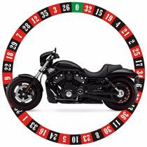Adesivo Polia Roleta Casino Harley Davidson Vrod Vrscdx 2009