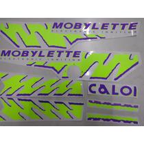 Jogo De Faixa Mobilete Caloi Xr 94 Neon Amarela
