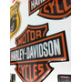 Adesivo Resinado Harley Davidson 8 Cm