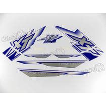 Kit Adesivos Xt225 2000 Azul - Resinado - Decalx