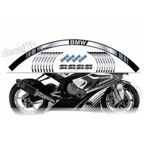 Kit Adesivo Friso Refletivo Roda Moto Bmw Fri05 Decalx