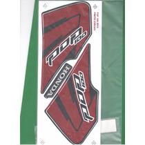 Kit Adesivos Honda Pop 100 2010 Preta