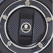 Protetor Bocal Relevo Tanque Moto Suzuki Bandit 2007 Diante