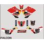 Adesivos Gráficos Personalizados Falcon Cola 3m Importada