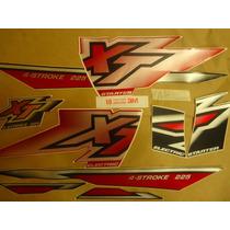 Adesivo Xt 225 00 Vermelha, Envio Grátis, Quali 3m