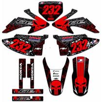 Adesivos Gráficos Para Moto Crf 230 Kit Crf230 Crf19