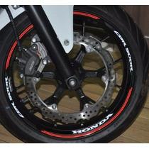 Friso Refletivo Adesivo Roda Interno Moto Honda Cbr 500 R M4