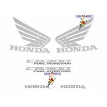 Kit Adesivos Honda Cb-300r 2011 Azul