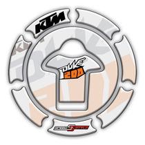 Adesivo Protetor Bocal Moto Fuel Cap Ktm Duke 200