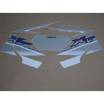 Kit Adesivos Yamaha Xt 225 2002 Prata