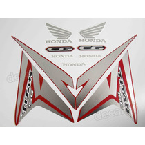 Kit Adesivos Honda Cg Titan 150 Esd/ex 2014 Vermelha- Decalx