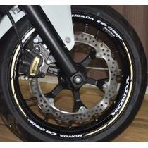 Friso Refletivo Adesivo Roda Interno Moto Honda Cb 650 F M1