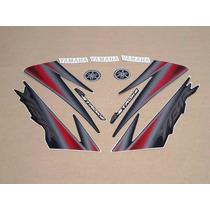 Kit Adesivos Yamaha Ybr 125 2005 Preta