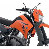 Kit Adesivos Yamaha Xtz 250x 2009 Laranja